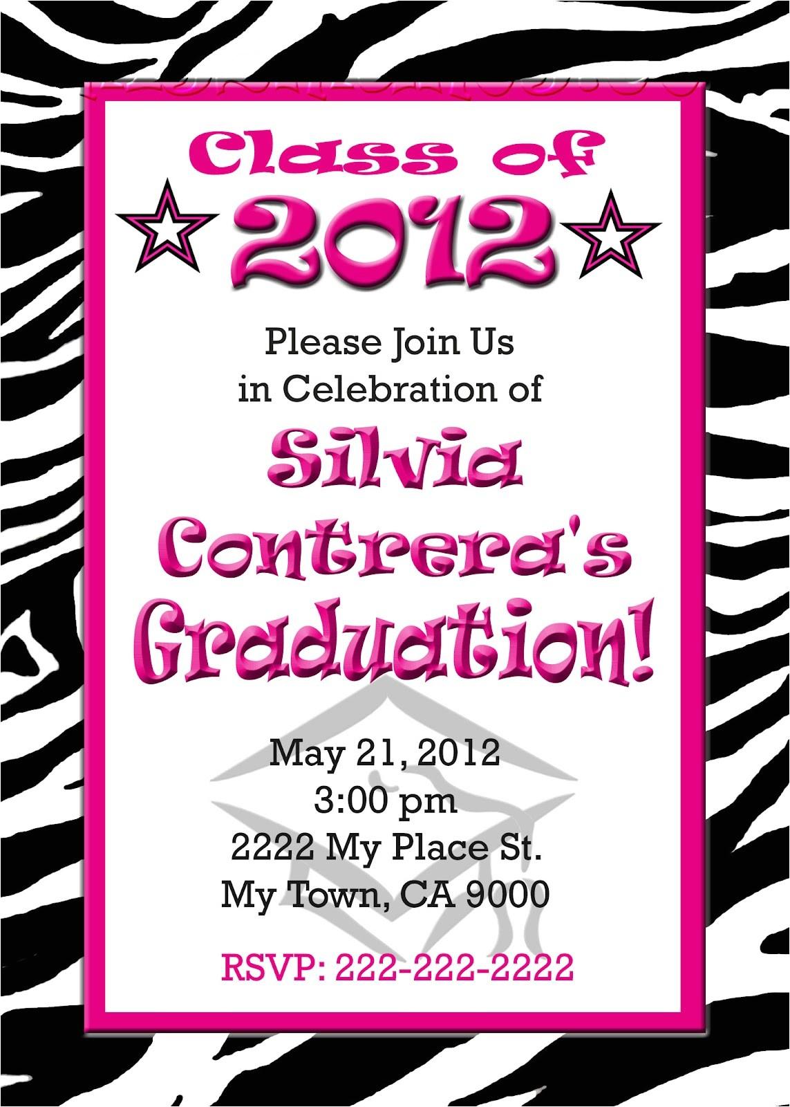 diy graduation invitations template