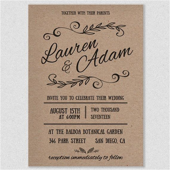 diy wedding invitations templates diy wedding invitations