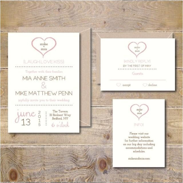Diy Wedding Invitation software Wedding Invitation Templates Wedding Invitations Diy