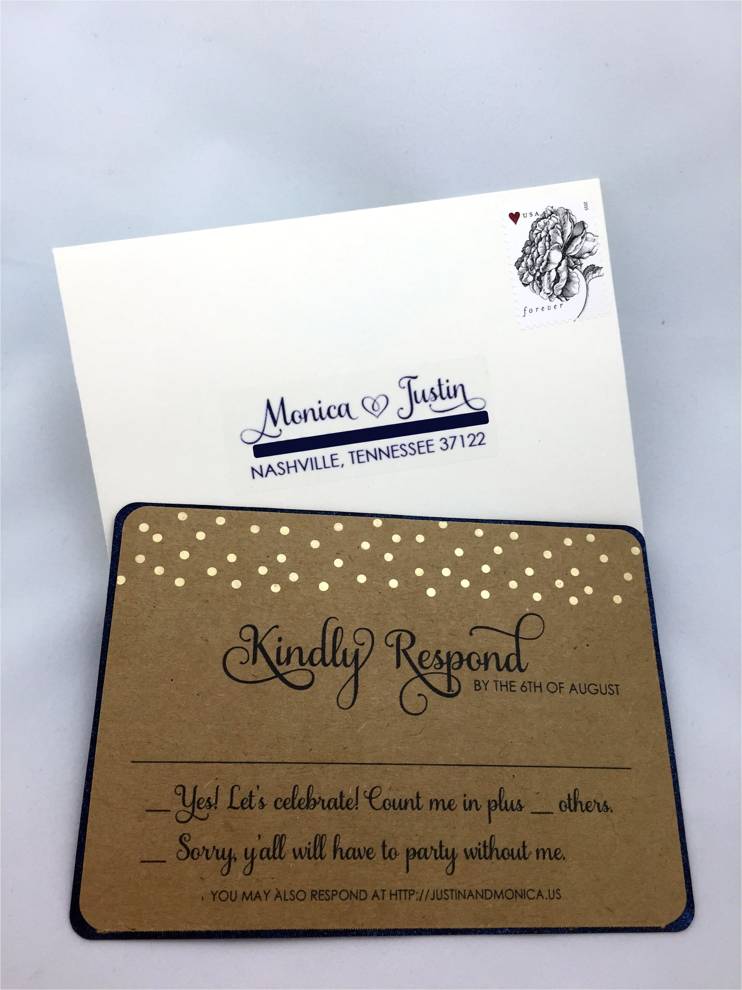 my lace diy rustic wedding invitations