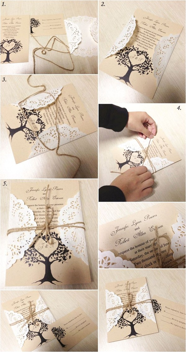 5 original stress free diy wedding ideas including invitations decorations and favors