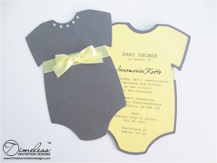 do it yourself baby shower invitations template
