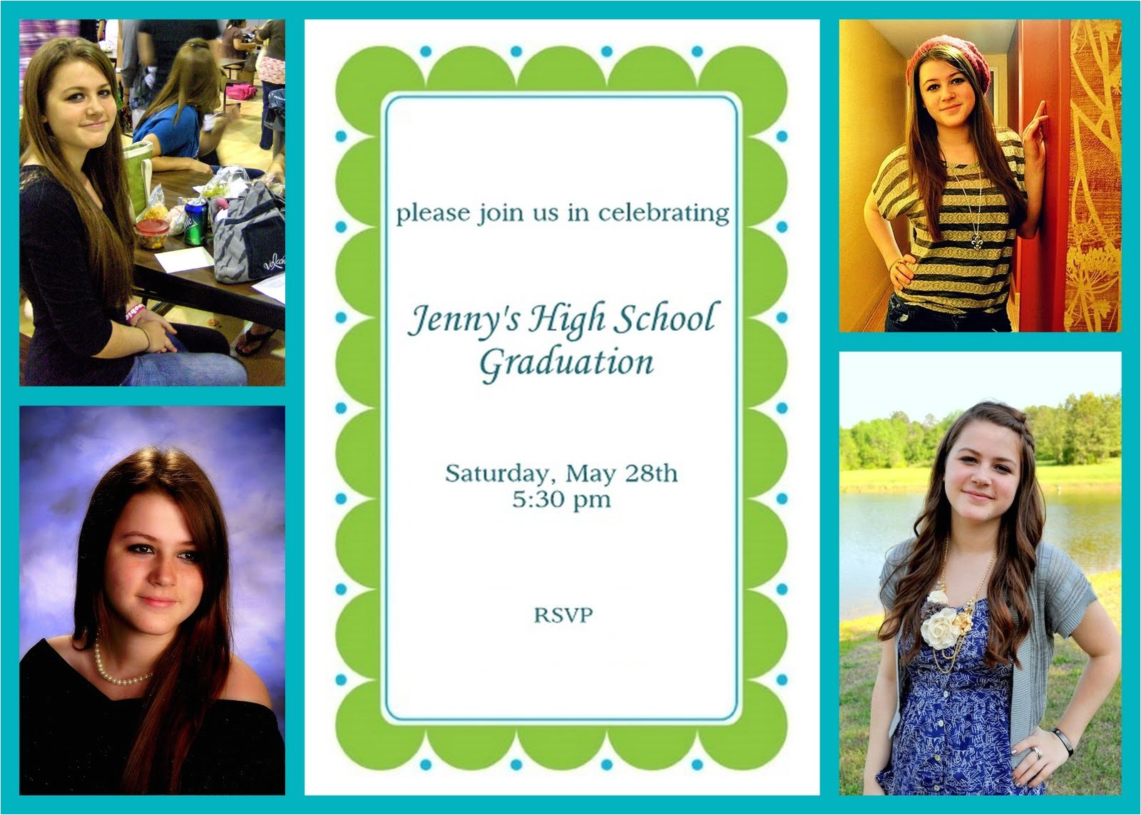 do it yourself graduation invitation ehow