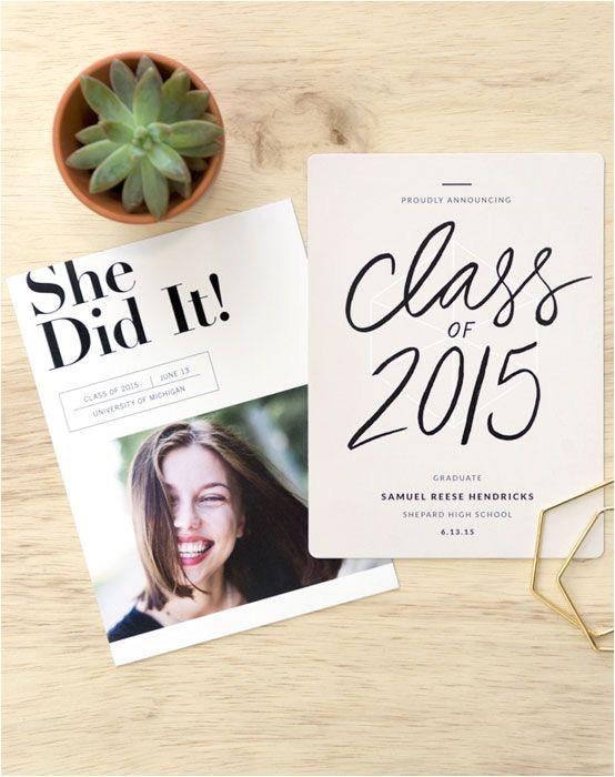 pinterest graduation invitations