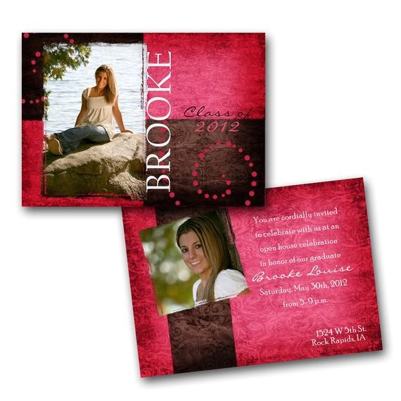 pink double sided graduation