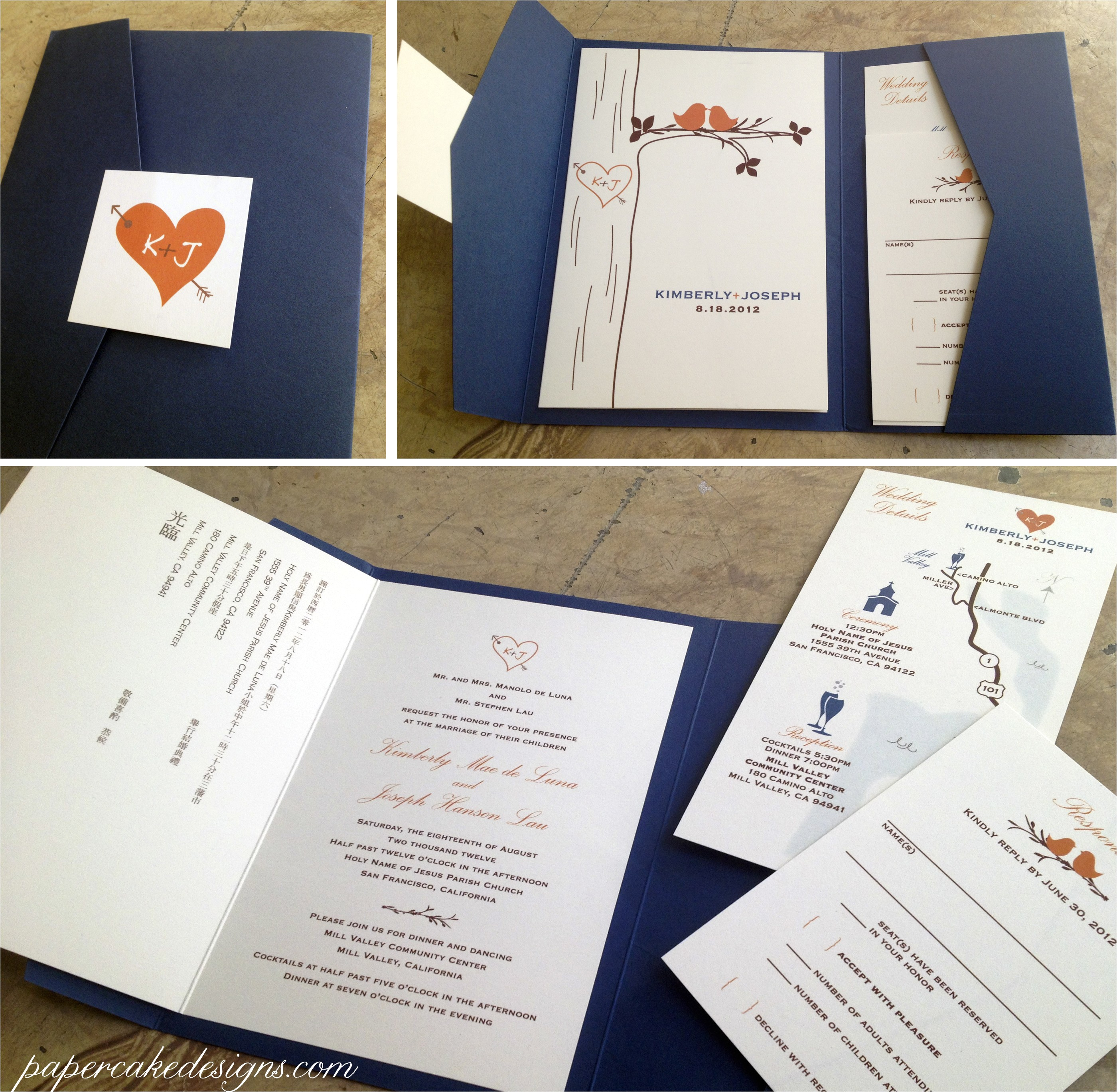 diy wedding invitations print assemble