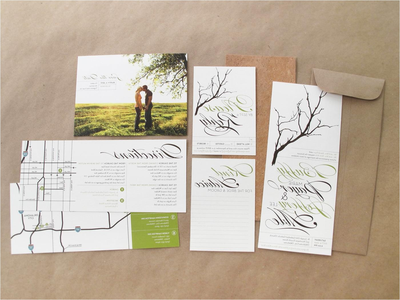 easy customization with diy wedding invitation kits