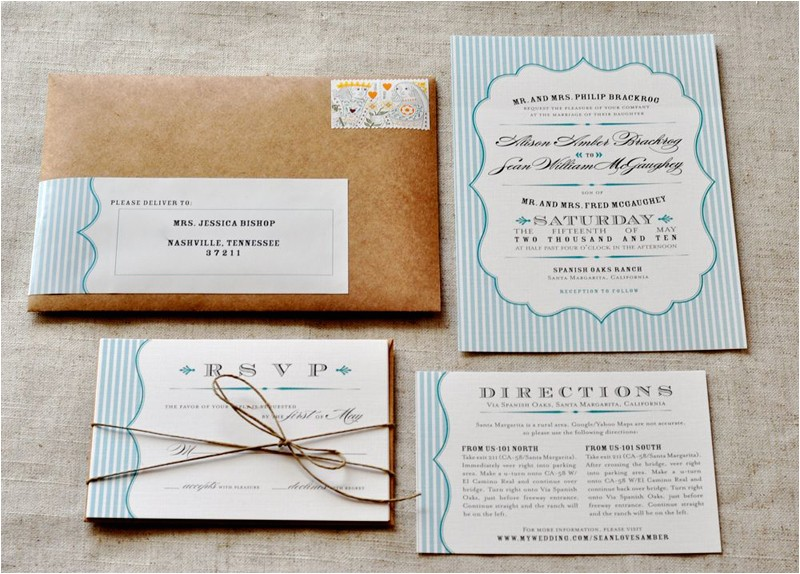 homemade rustic wedding invitations the easy ways