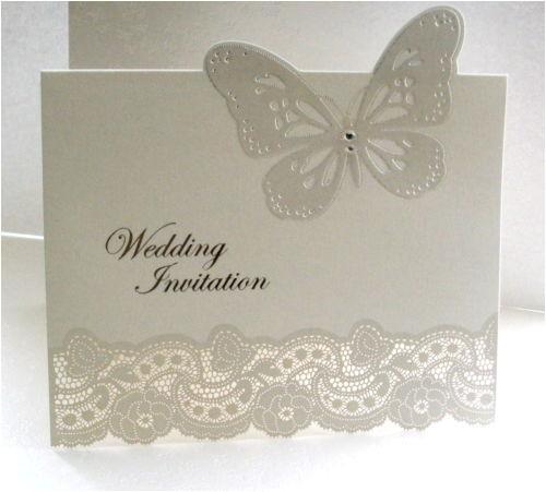 Ebay Wedding Invitations Lace Wedding Invitations Ebay