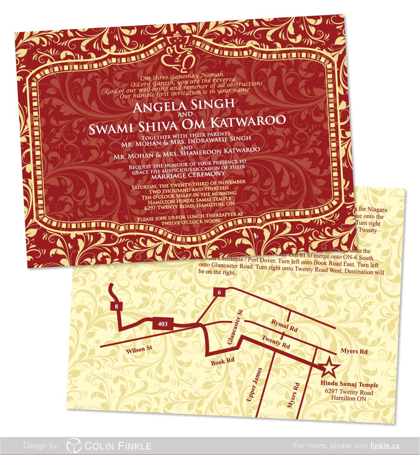unique ideas for hindu wedding invitations ideas