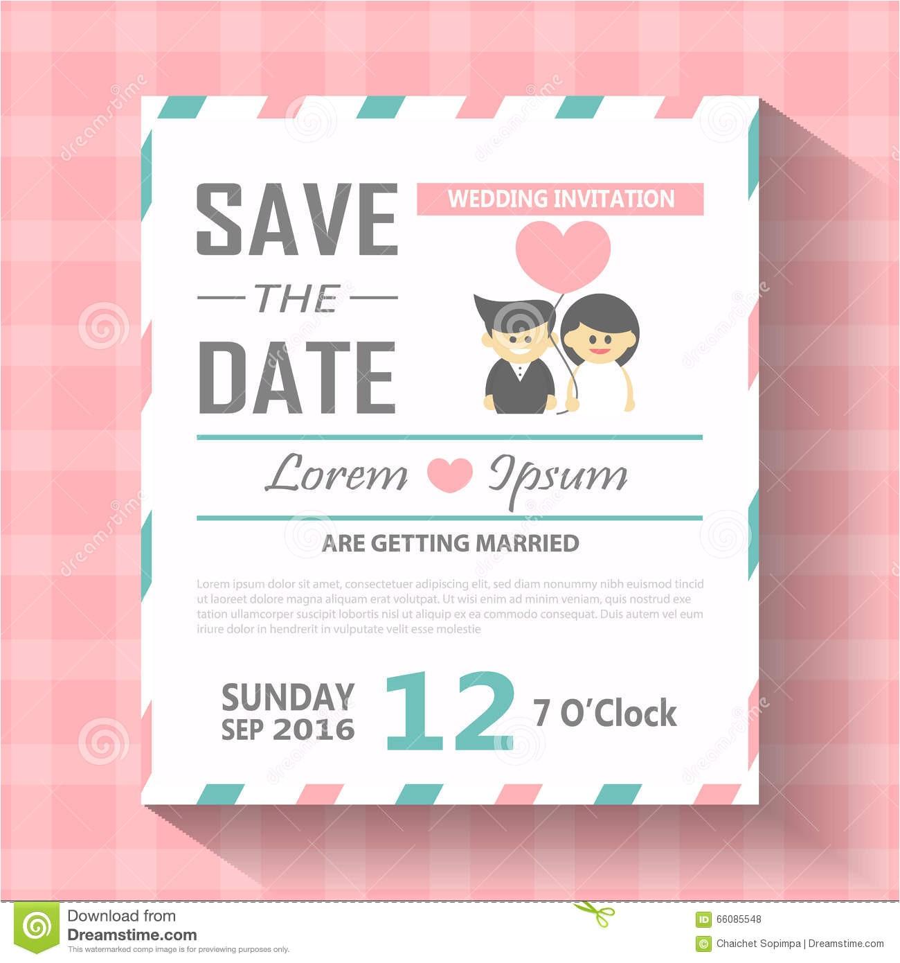 stock illustration wedding invitation card template vector illustration wedding invitation card editable background chevron font type save image66085548
