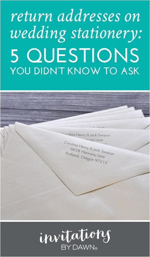 bridal shower invitation envelope addressing etiquette