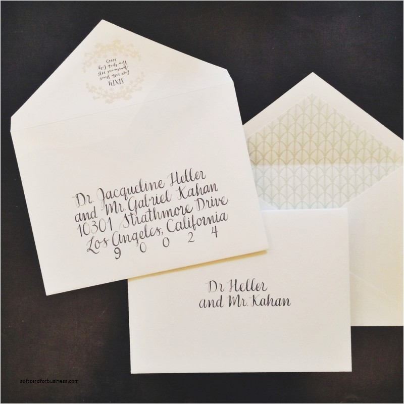 inside envelope wedding invitation etiquette