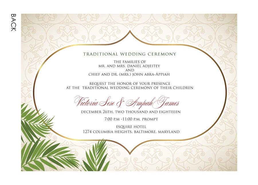 amharic wedding invitation card