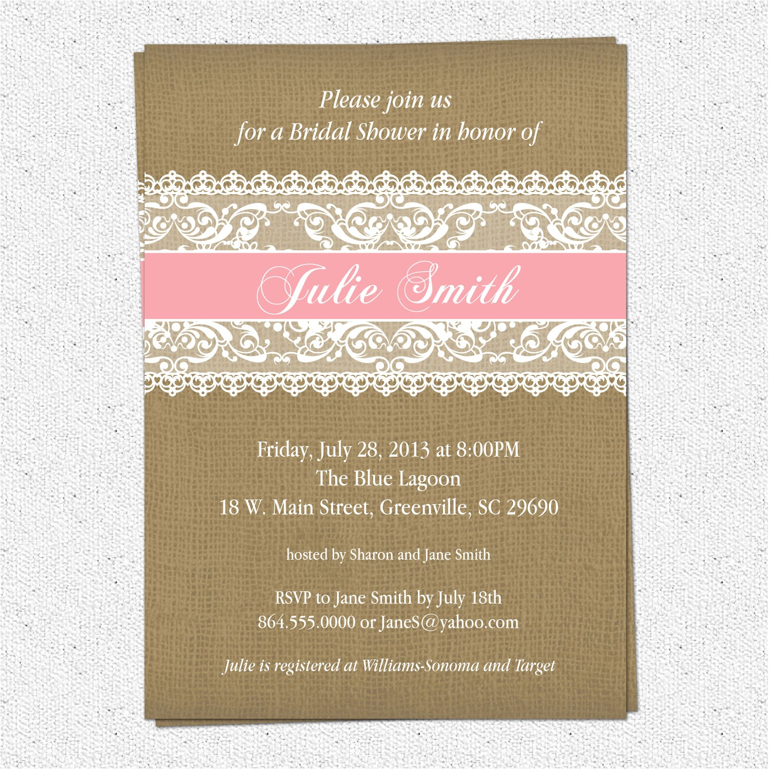 etsy vintage wedding invitation templates