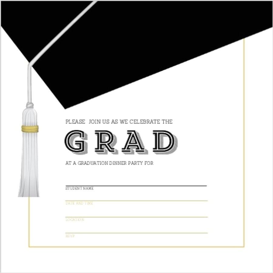graduation invitation templates