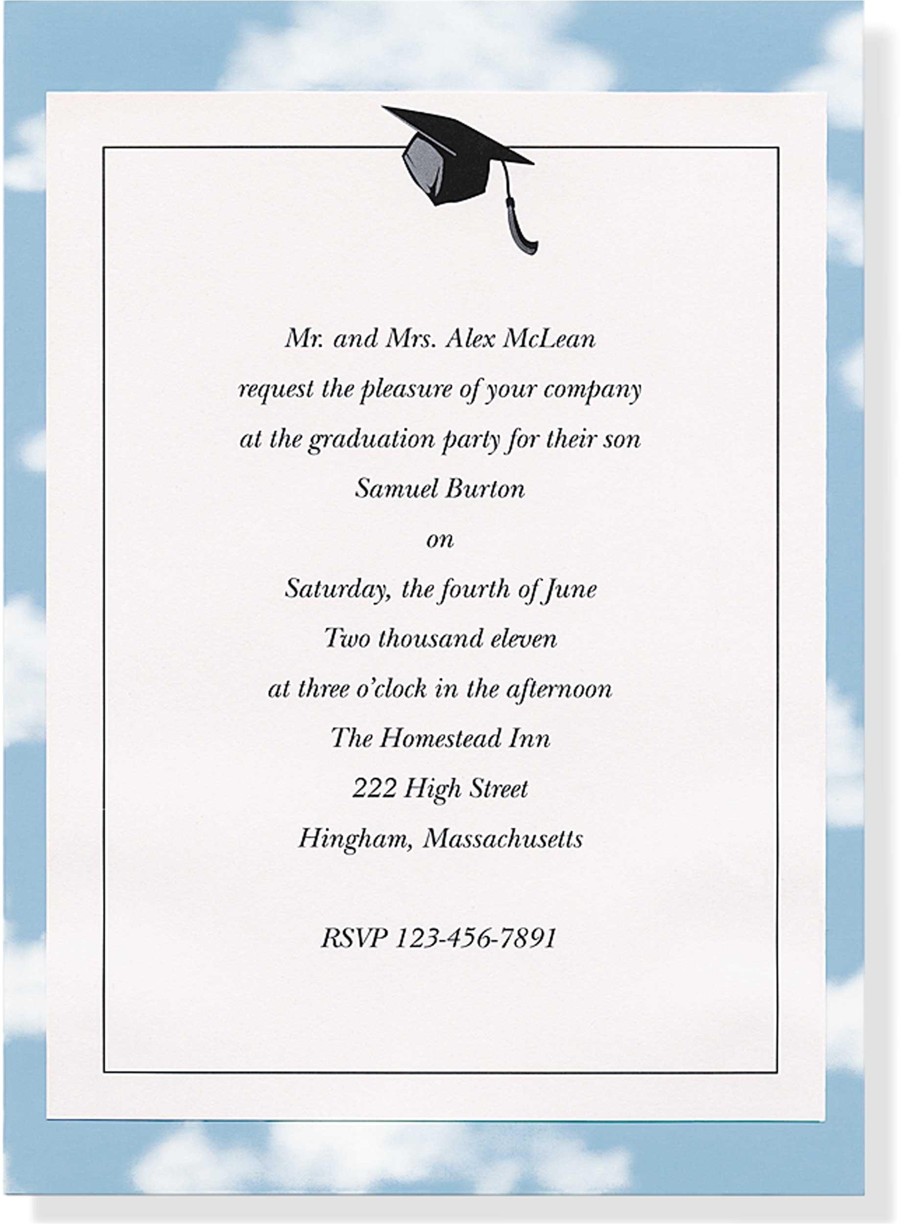 sample invitations for graduation brown wedding invitations