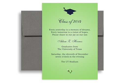 examples of graduation announcements quotes