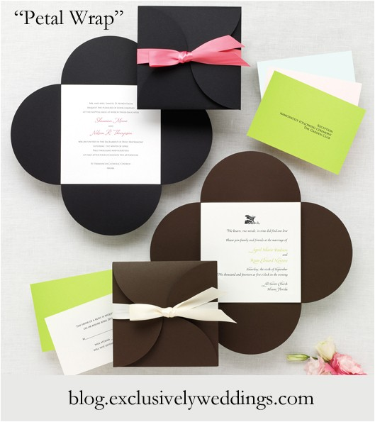 wedding invitations tips for choosing the right shape