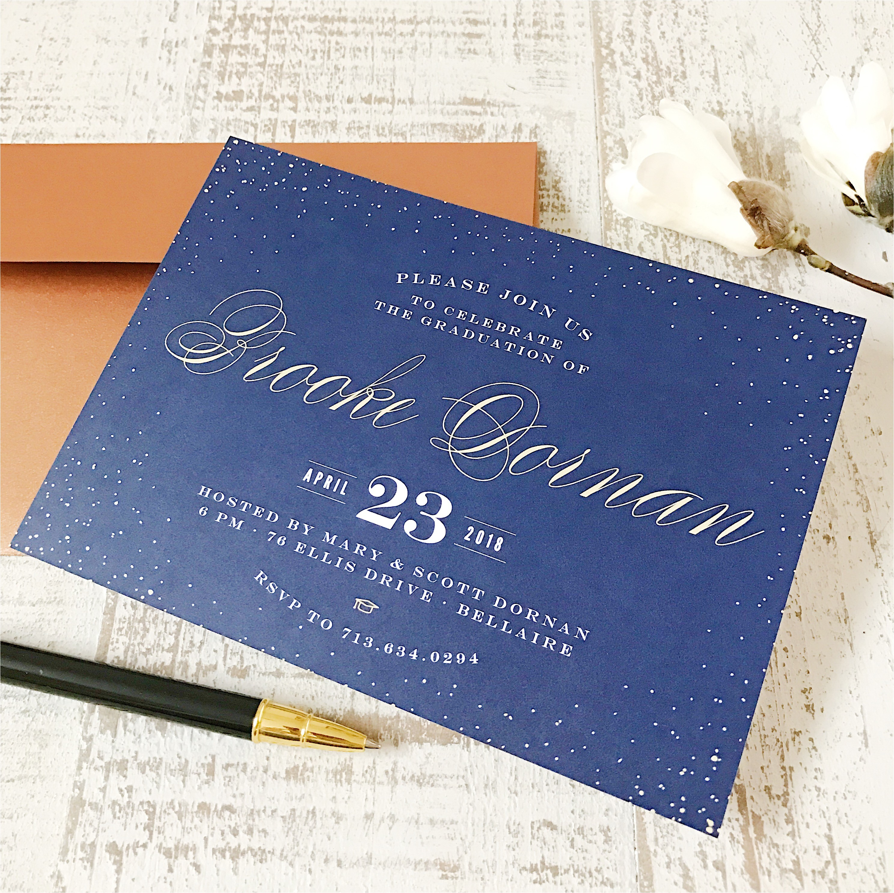 basic invite offers elegant graduation invitations