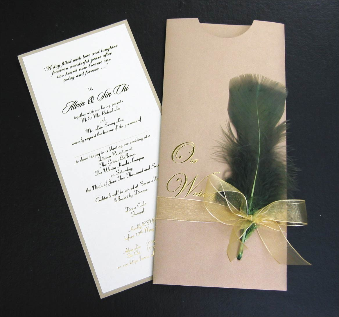 most expensive wedding card invitation