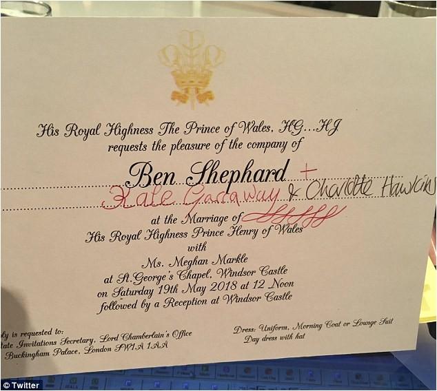 good morning britain ben shephard invite royal wedding ito 1490
