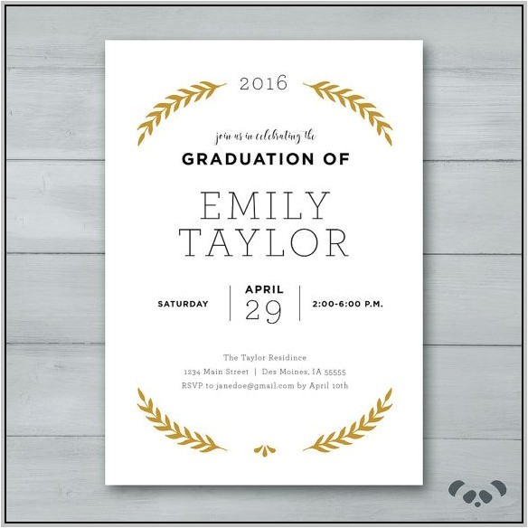 fill in graduation party invitations 10189