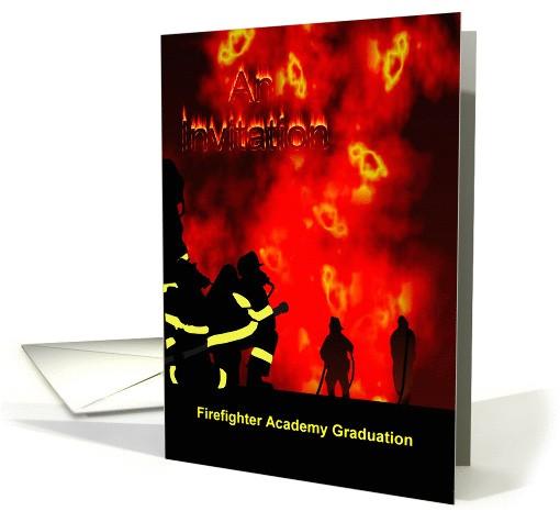 invitation to firefighter academy graduation 920368