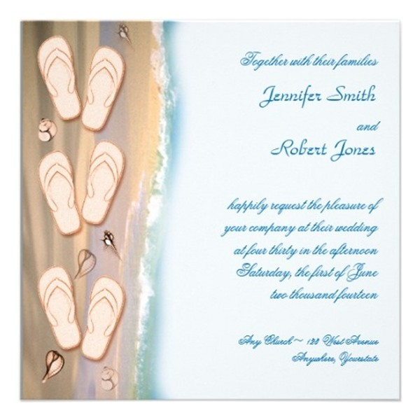 seal and send beach wedding invitations to set the tone for your beach theme weddings