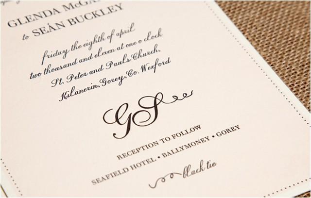 wedding invitation formal attire ideas