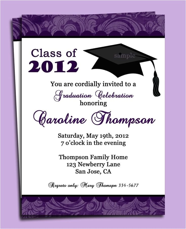 formal graduation invitation template 3777