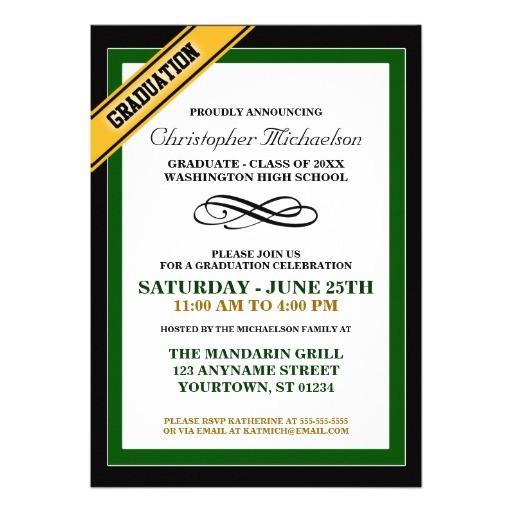 formal graduation announcements 161450114974435177