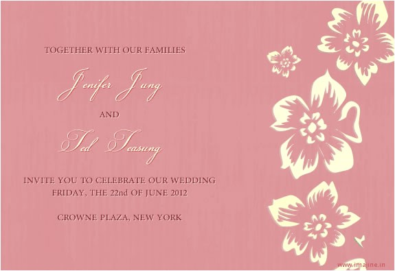 new free email wedding invitation cards on you are inv