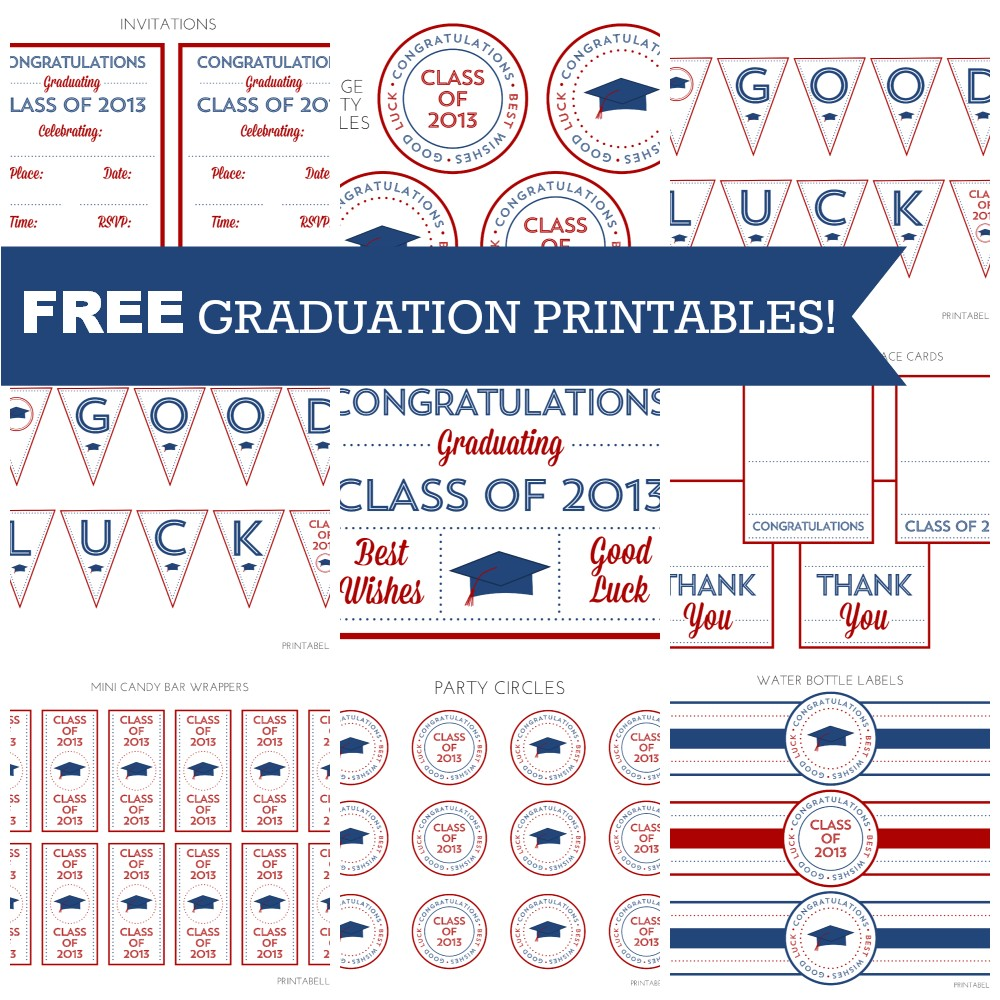 printables free graduation