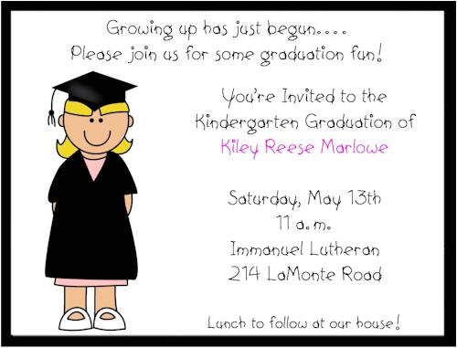 preschool graduation invitation templetes