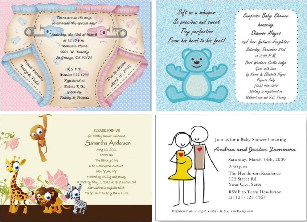 baby shower invitations online free