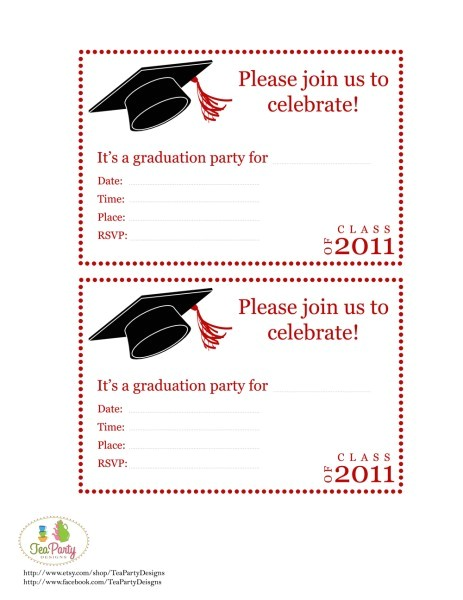 Free Printable Graduation Invitations Fun and Facts with Kids Graduation Diy Party Ideas and