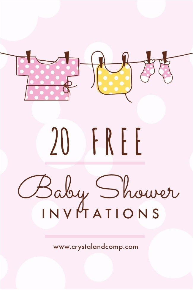 Free Printables Baby Shower Invitations Printable Baby Shower Invitations