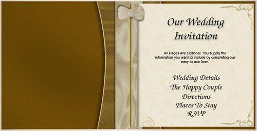 free wedding invitation samples by mail free wedding invi