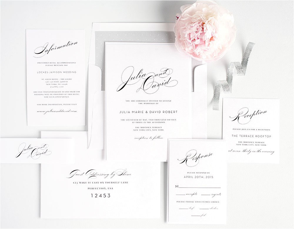 free wedding invitation samples by mail