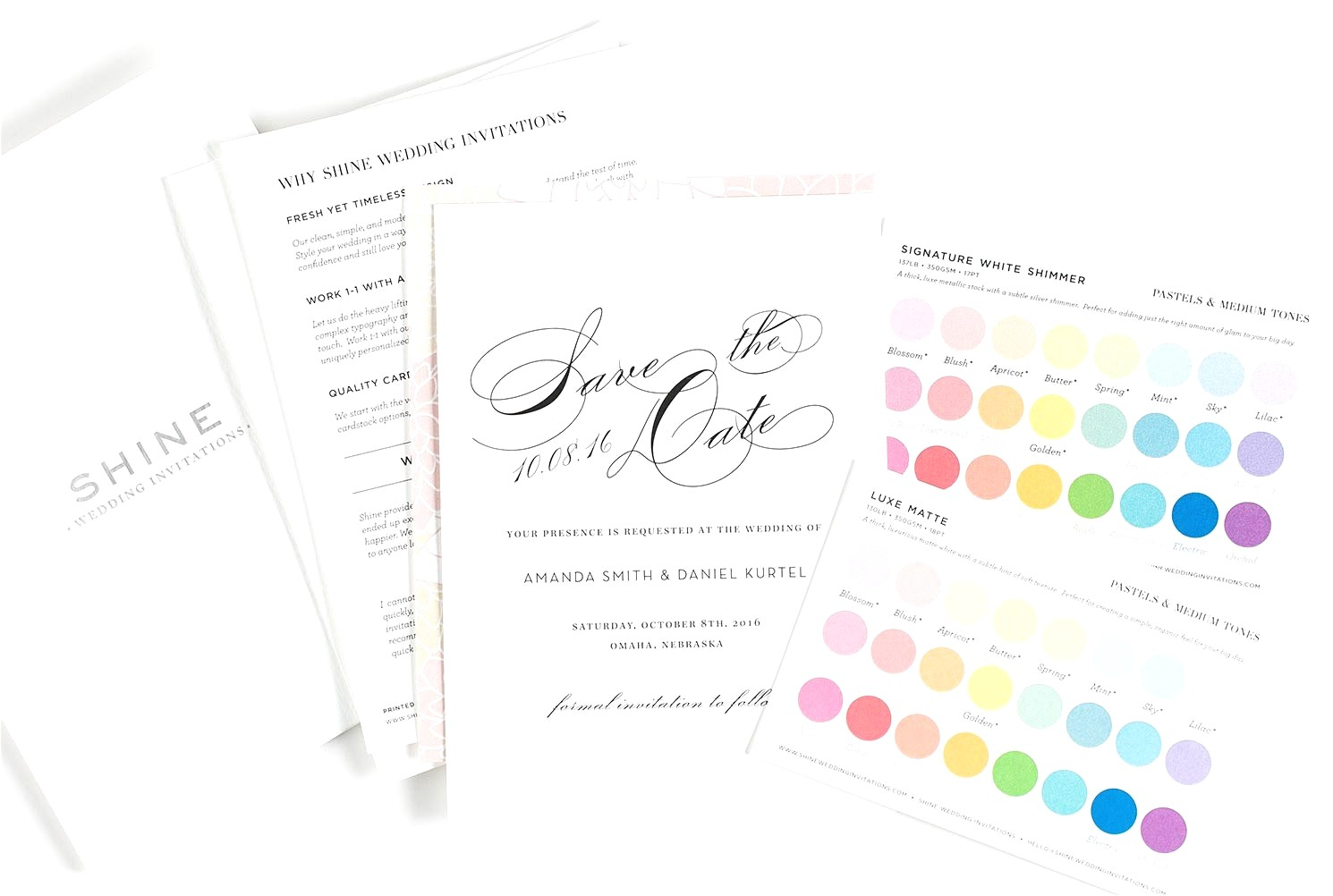 wedding invitation format on mail