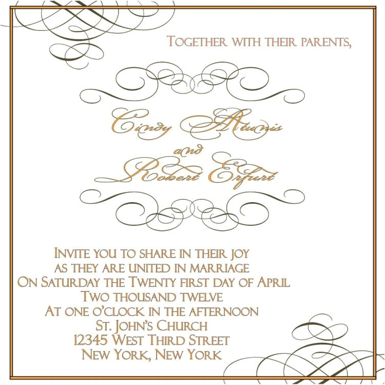 wordings lovely free wedding invitation samples by mail uk