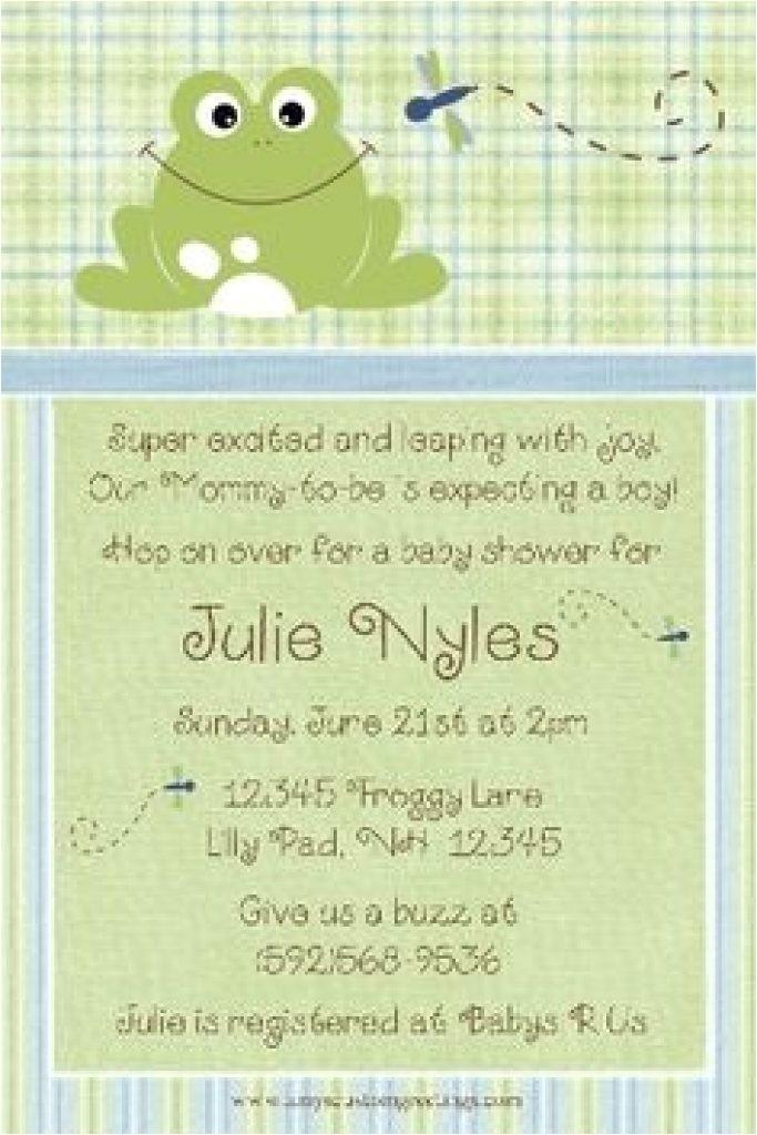 baby shower invitation instant download frog baby shower bi