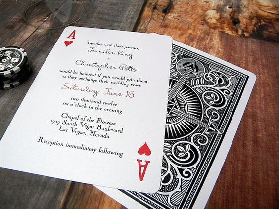 rummy unique destination wedding invitations