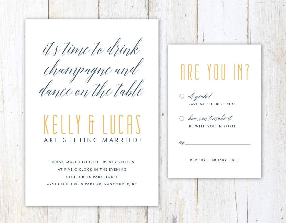 Funny Wedding Invite Wording Funny Wedding Invitation Wording Wedding Invitation