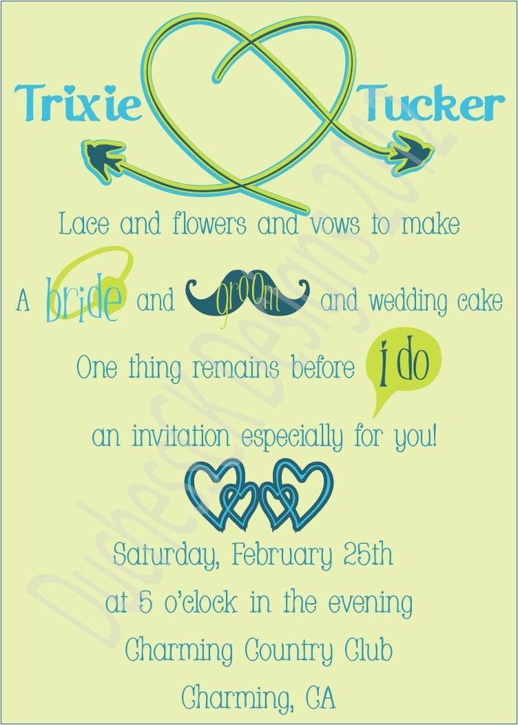 funny wedding invitations template