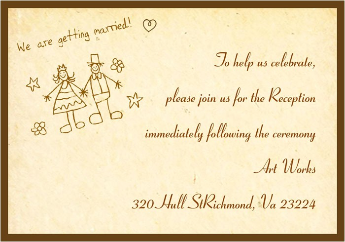 Funny Wedding Reception Invitation Wording 9 Best Images Of Funny Wedding Card Printable Free