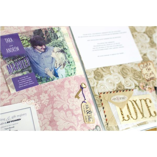 gift ideas made from wedding invitations 12194364