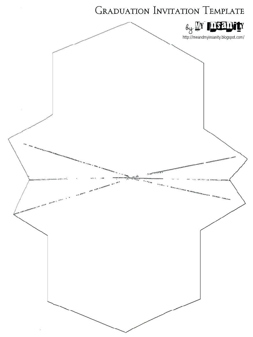 graduation cap template printable