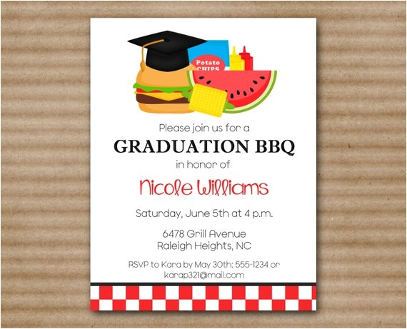 graduation wording for invitations